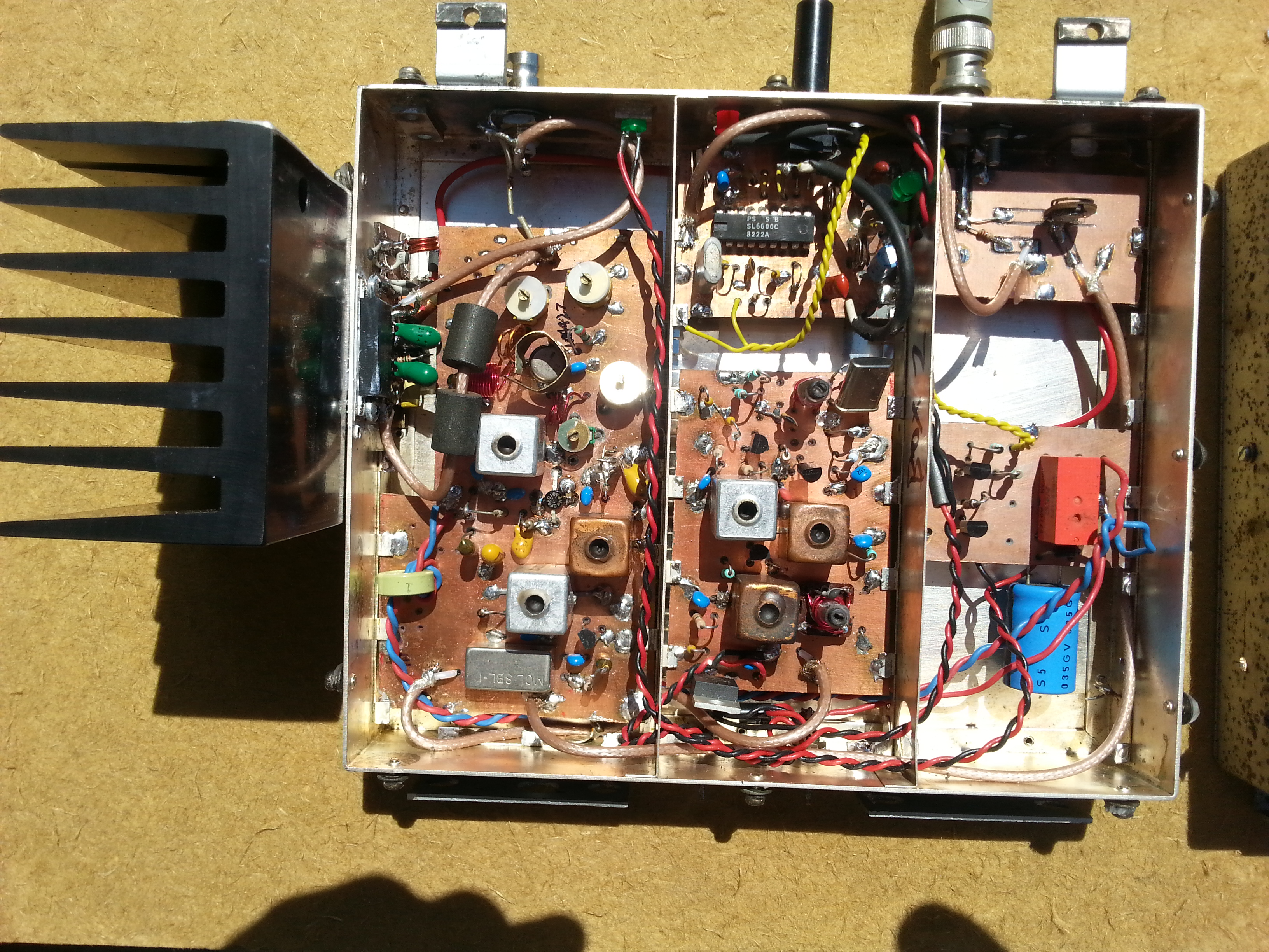 Rotorua Linear Repeater Mk2 Rf Input Receiver With Bandpass Filter Switch Circuit Control Output Swept Response